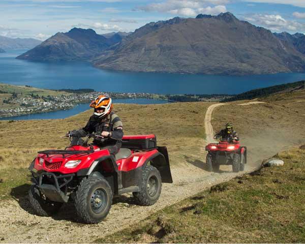 Kvad kao svestrano i korisno vozilo Queenstown-Quad-biking-Nomad-Quads-600x480