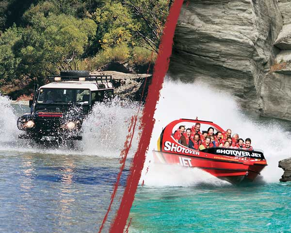 Shotover Jet & 4WD Combo