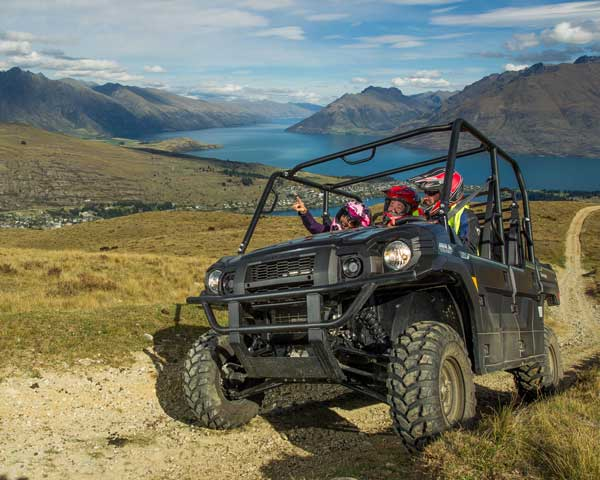 Queenstown 360 UTV Tour