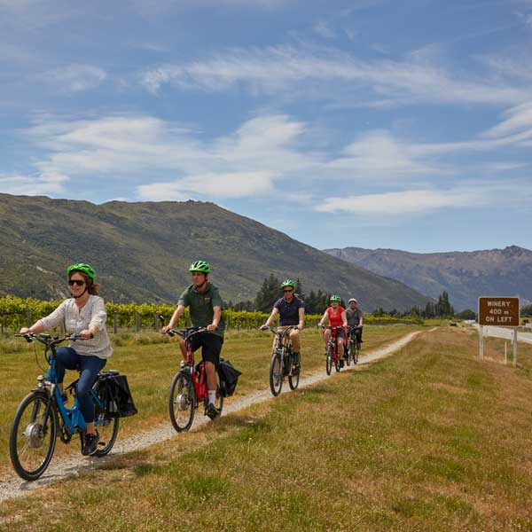 queenstown-bike-wine tour