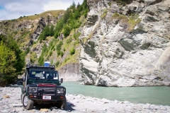 4WD-Skippers-Canyon-Shotover-River