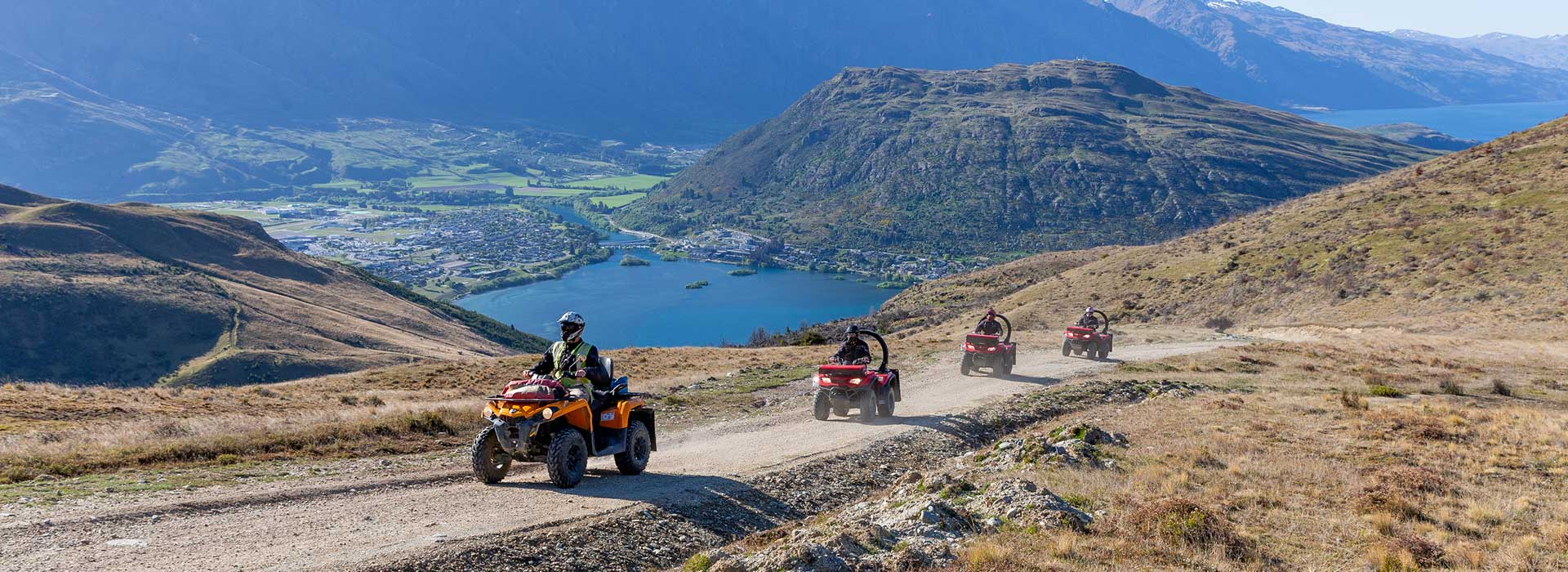 Quads, 4WD, Guided Walks & E-bike Tours